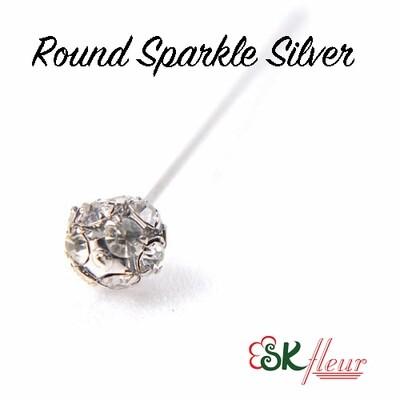 Design Picks / Round Sparkle Silver