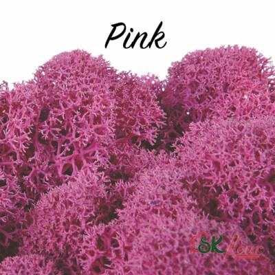 Moss/ Pink