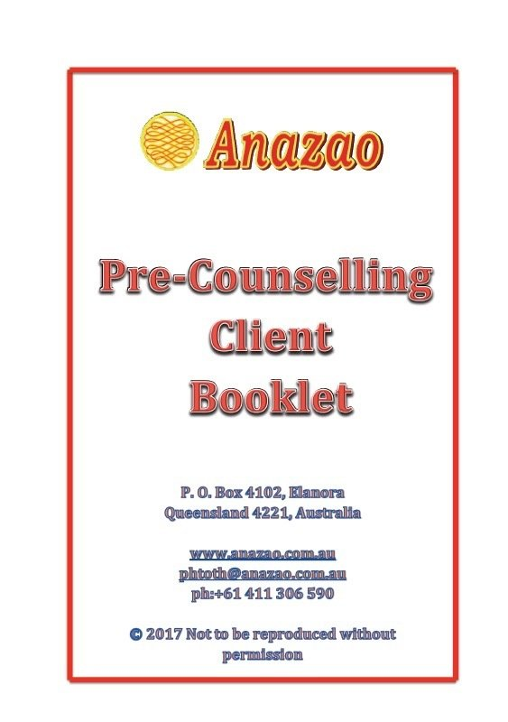 Pre-Counselling Client Booklet