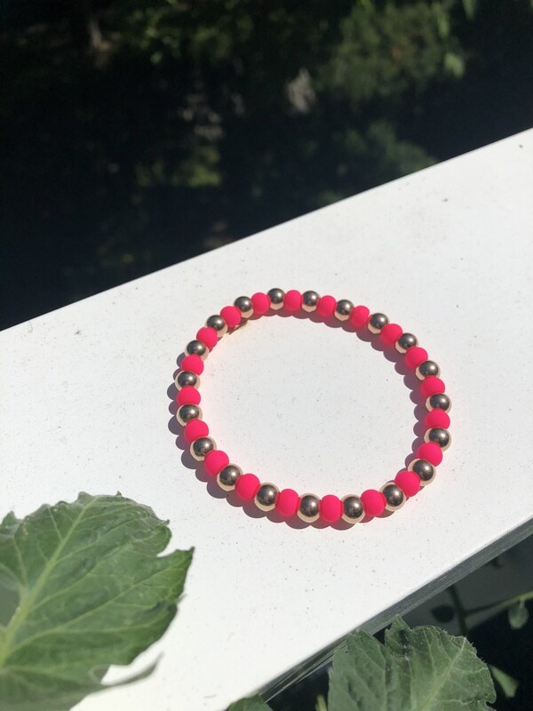 Pink Neon Dream Bracelet