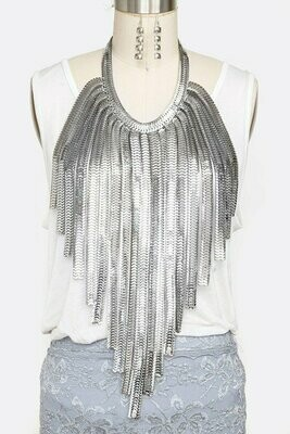 Fabulous Multi Layered Bib Necklace