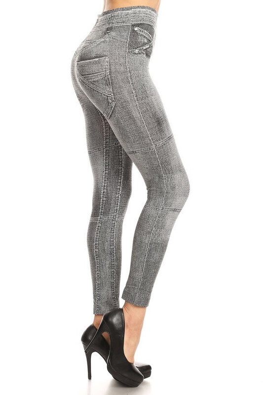 Black Ash Jeggings