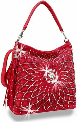 Beautiful Red Bling Purse