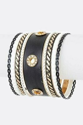 Beautiful Unique Iconic Mix Bangle Se
