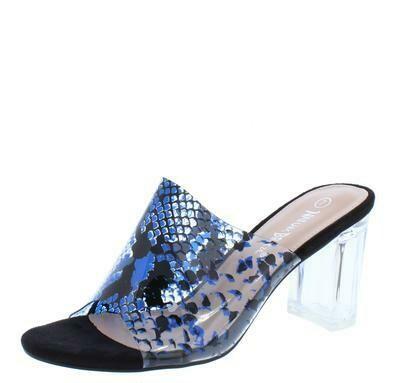 Joye  Clear Women's Snakeskin  Heel
