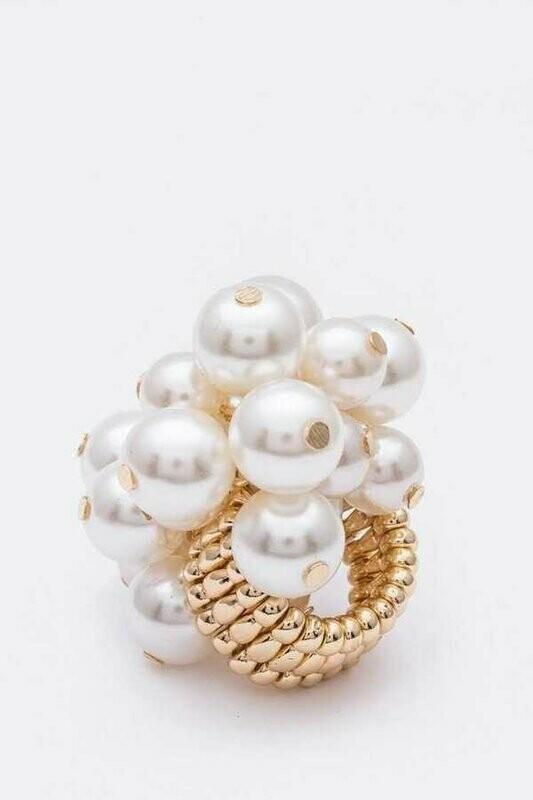 Fringe Beads Iconic Stretch Ring