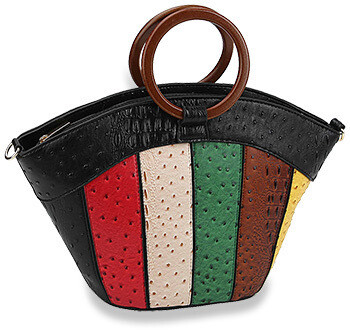 Colorful Embossed Tote Set