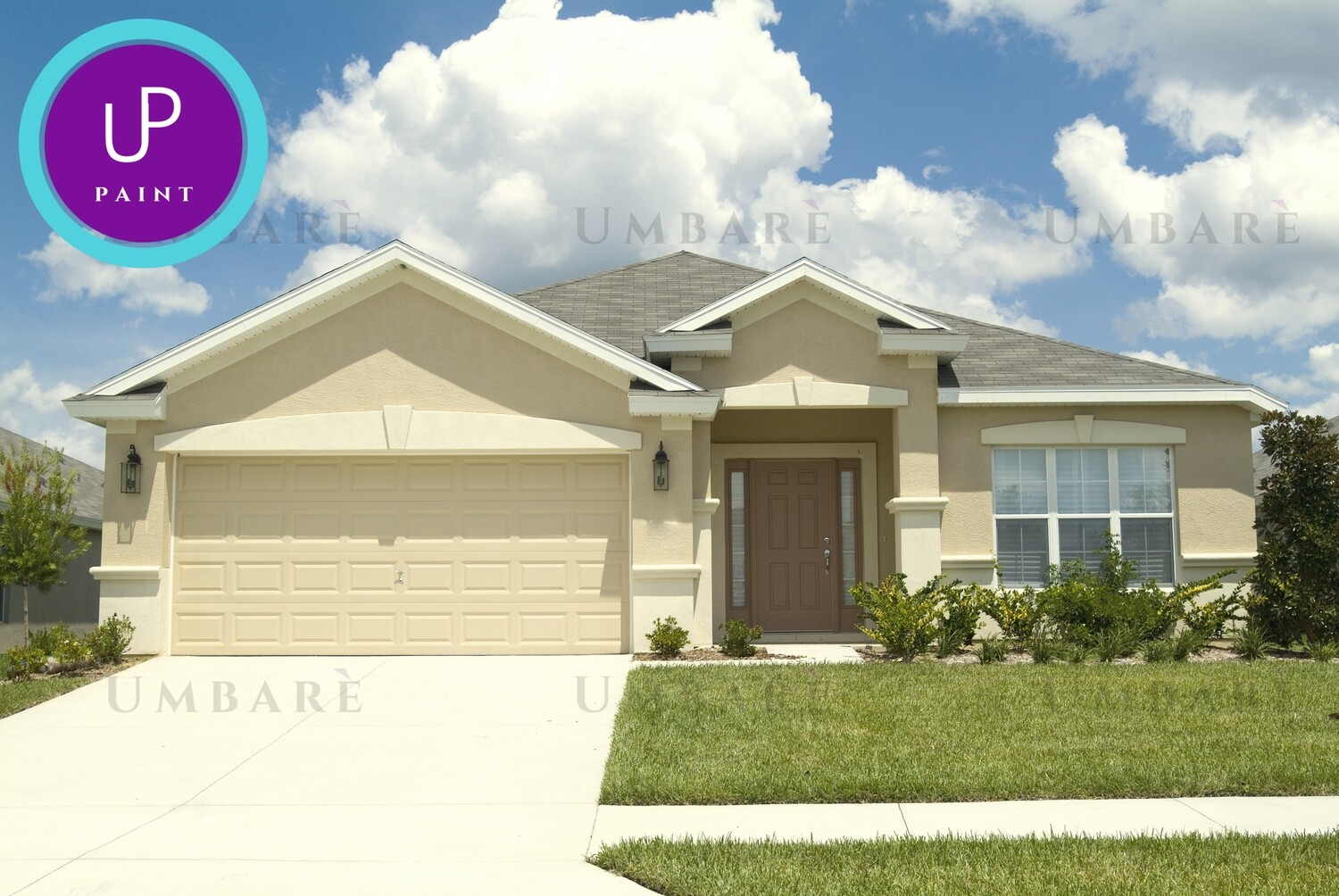 Umbare 1 Story Home Exterior Painting House Refinish Basic