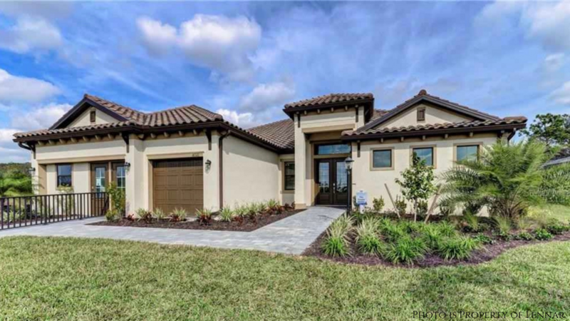 New Home For Sale in Lorraine Lakes by Lennar Homes Completed by December 2021