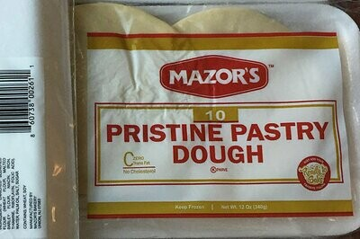 Pristine Pastry Dough -  Midsize Platter (6-Pack)