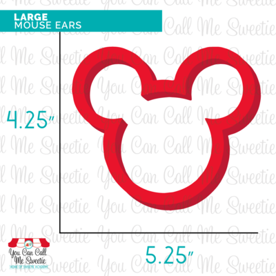 Large Mouse Ears Cutter