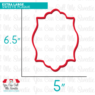Extra Large Sweetie Plaque- Back Order