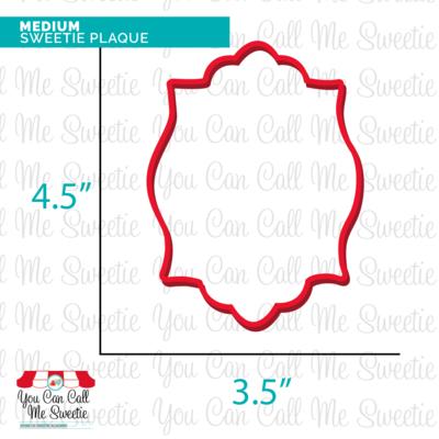 Medium Sweetie Plaque