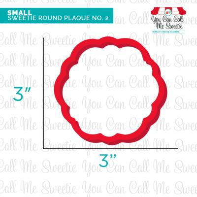 Sweetie Round Plaque No.2