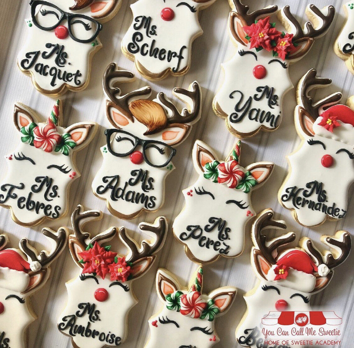 Reindeer Plaque Template Digital Download