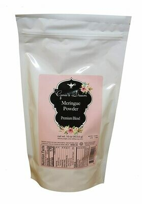 Genie's Dream Meringue Powder 16 oz- Presale