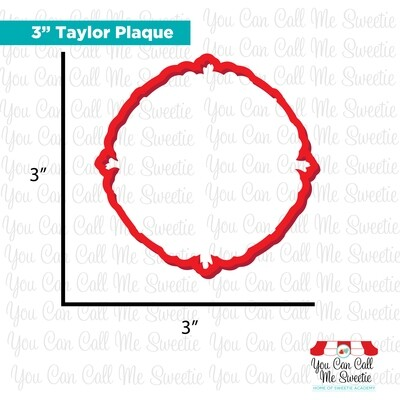 Taylor Plaque- 3 Sizes Available