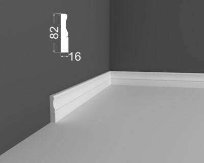 Плинтус напольный DeArtio под покраску Р14.82.16