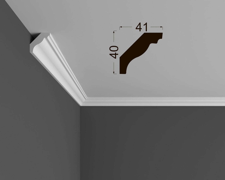 Потолочный плинтус Deartio под покраску К 4.60.16