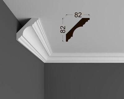 Потолочный плинтус Deartio под покраску К 5.115.22