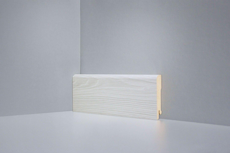 B202-01 Монте-Карло светло-серый плинтус напольный Deartio Best