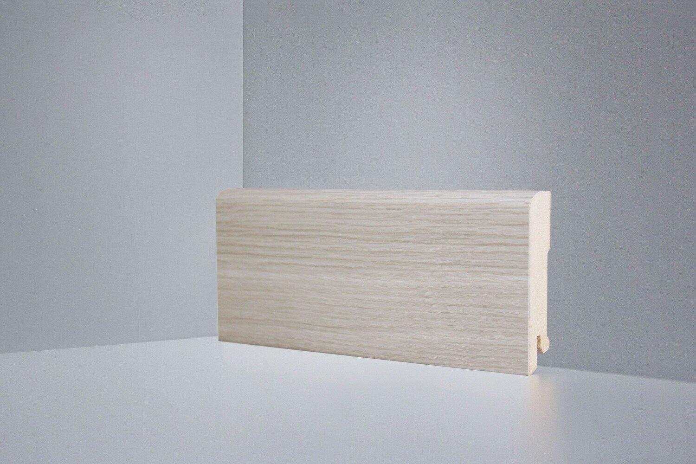 B202-06 клён светлый плинтус напольный Deartio Best