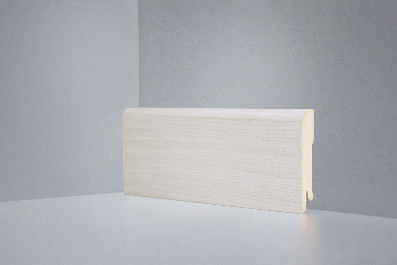 B202-12 дуб осветленный плинтус напольный Deartio Best