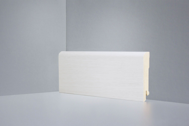 B202-11 дуб белёный плинтус напольный Deartio Best