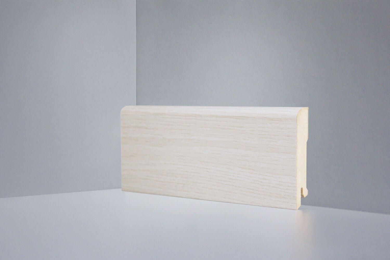 Плинтус напольный B202-12 дуб осветленный Deartio Best