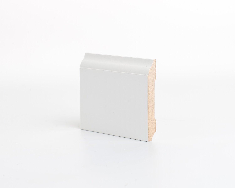 Плинтус напольный МДФ DeArtio под покраску Р18.82.12