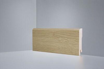 B202-09 дуб натуральный брашированный плинтус напольный Deartio Best