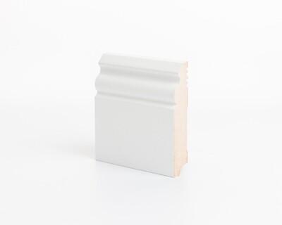 Плинтус напольный МДФ DeArtio под покраску Р5.100.18