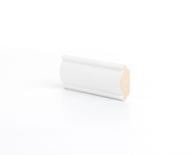 Потолочный плинтус МДФ Deartio под покраску К 3.42.16