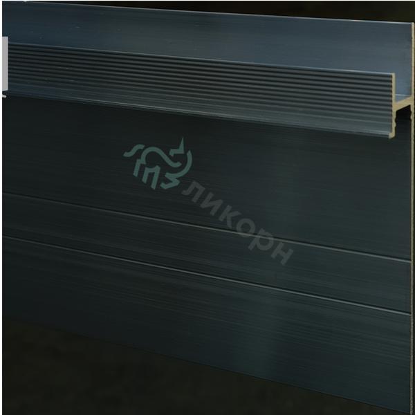 Плинтус скрытый / теневой профиль Ликорн С-02.2.3 черный