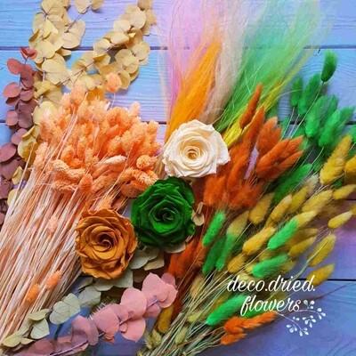 Набор микс из сухоцветов #1