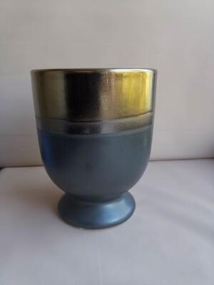 Ваза керамическая золото /бронза 11*11*14