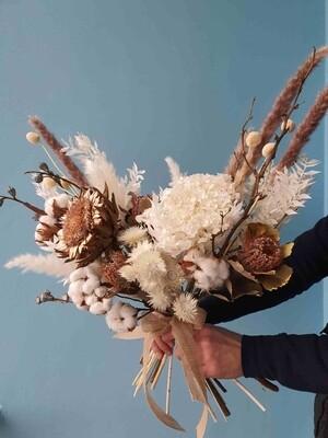 Bouquet natural with artichoke