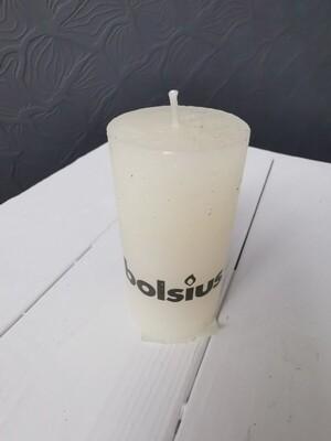 Свеча столбик крем