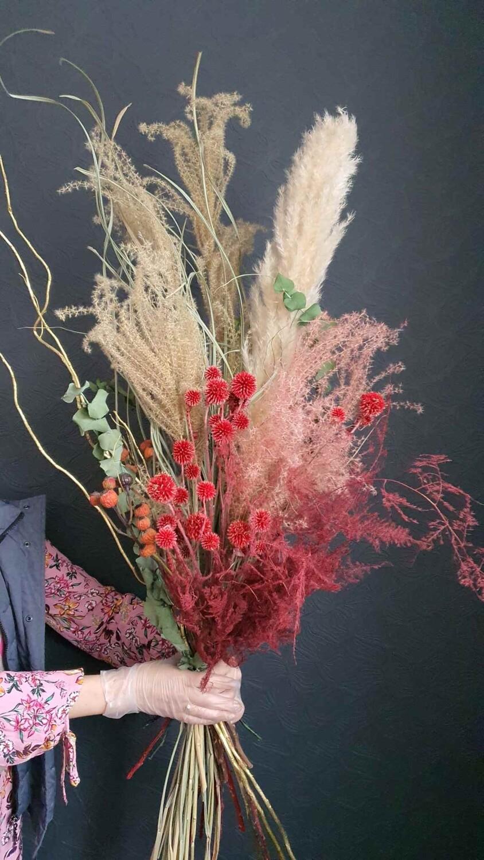 Композиция интерьерная более 100см для напольной вазы