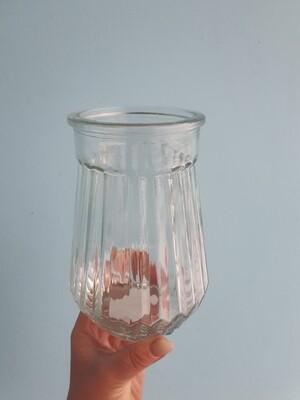 Ваза граненая стекло D=11,5, H=16,5