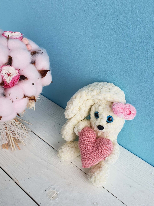 Toy knitted Rabbit Handmade