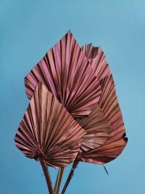 Листья пальмы бронзовые копья 5 шт