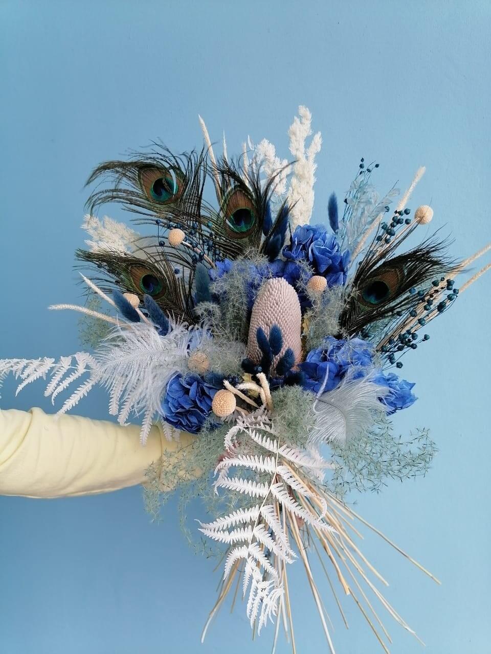 Букет синяя птица
