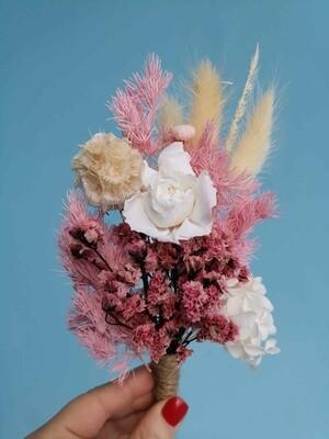 Букет комплимент из сухоцветов #1