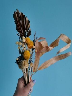 Набор сухоцветы и стабилизированные растения