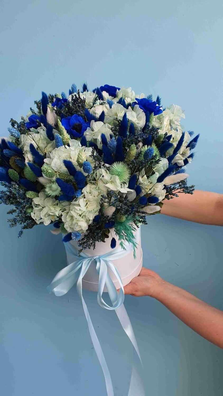 Композиция интерьерная Королевский синий
