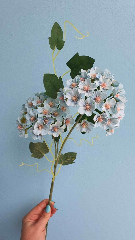 Begonia blue artificial