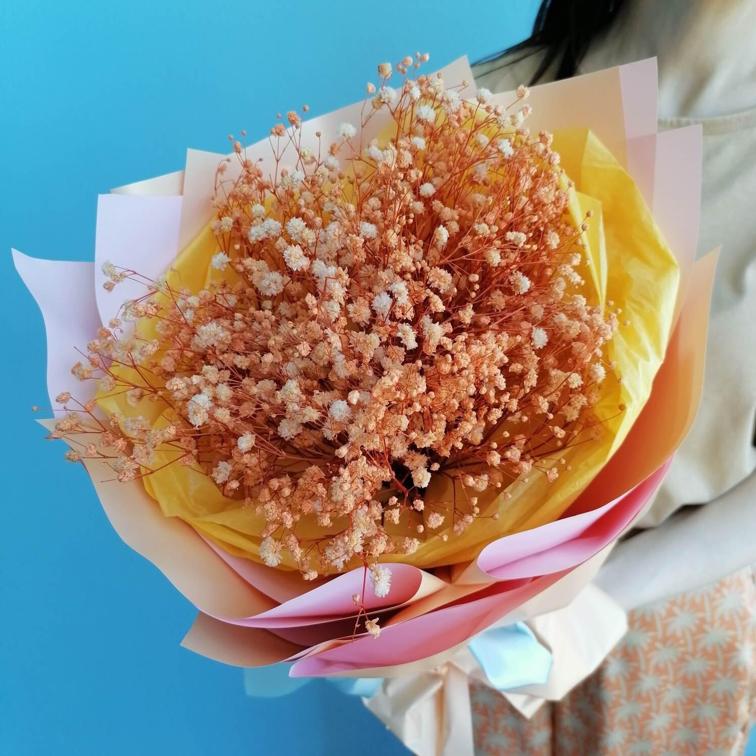 Bouquet Joy from gypsophila