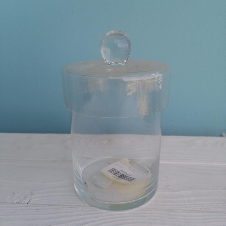 Glass vase cylinder