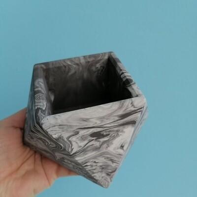 Planter plaster gray